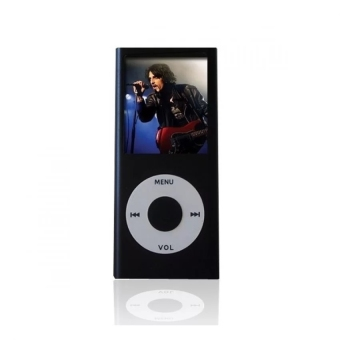 Harga iPod Mp3 Player Mp4 Player+Free 8GB Miro Card+Free Earphone (Black)