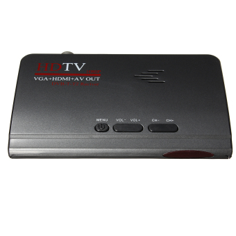 Harga Digital Terrestrial HDMI 1080P DVB-T T2 TV Box VGA AV CVBS Tuner Receiver Remote EU (EXPORT)