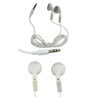 Harga Earphone for MP3 MP4 PSP NEW (White) - Intl