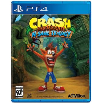 Harga PS4 Crash Bandicoot N Sane Trilogy
