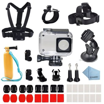 Deyard 41 in 1 Xiaomi Yi 4K Protective Waterproof Housing Case Accessories Bundle for Xiaomi Yi 4K Action Camera 2