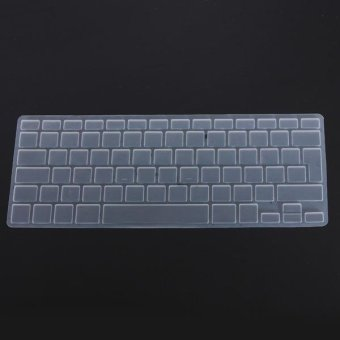 Harga Clear Silicone Keyboard Cover Skin For EU UK Version Macbook Pro Air 13 15 17 - intl