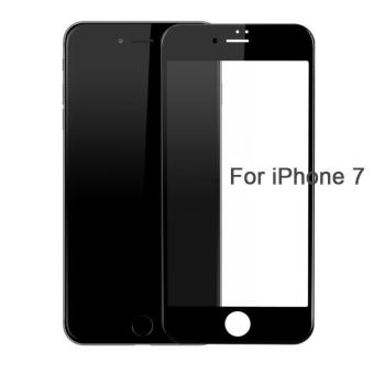 Baseus PET Soft Edge 3D Glass Film 0.23mm HD Covered Tempered Glass Screen Protector for IPhone 7 Plus - intl