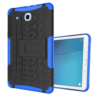 Armor Protection 2in1 [Soft TPU and Hard PC] Stand Function Tablet case for Samsung Galaxy Tab E 9.6 T560 T561 - intl
