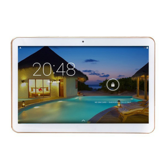 "Harga KT096H Android 4.4 3G Tablet Phone w/ 9.6"", 1GB RAM, 16G ROM - White"