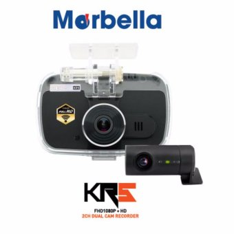 Harga Marbella – KR5 2CH Dual Cam Recorder | 1 Year Local Manufacturer Warranty
