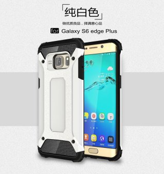 Harga Luxury 2 in 1 Hybrid Durable Shield Armor Shockproof Hard Rugged Phone Case Cover For Samsung Galaxy S6 Edge Plus - intl