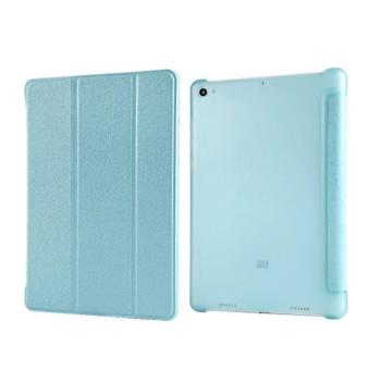 Harga (Sky Blue) Smart Wake / Sleep Flip Stand Case Casing Cover for Xiaomi Mi Pad 3