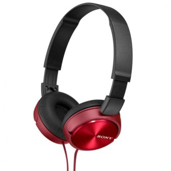 Harga Sony Singapore MDR-ZX310 On-ear Headphone (Red)