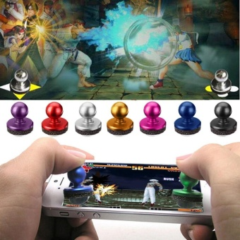 Harga Joystick-IT Tablet PC Arcade Stick Joypad Game Controller For Phone(purple) - intl