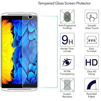 Harga Ueokeird 9H HD Clear Tempered Glass Screen Protector Film For Lenovo Vibe X3 - intl