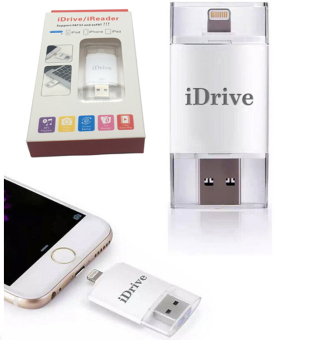Harga 128GB i-Flash Drive U-disk OTG for iPhone 6/ 6S/7 plus/Android
