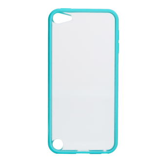 Harga Plain Hard Silicone Matte Back Case for Apple iPod Touch 5 Touch 6 Skin (Blue)