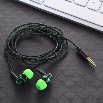 leegoal 3.5mm Stereo In-Ear Earphones Headset For Mobile Phone - intl