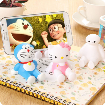 Harga Cute cartoon cat doraemon creative desktop phone holder lazy phone holder