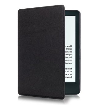 Harga JinGle Thin PU Leather Case Cover for Amazon Kindle 8th 2016 (Black)