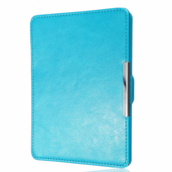 Harga HKS Magnetic PU Leather Case Cover for Kobo Glo Sky Blue - intl