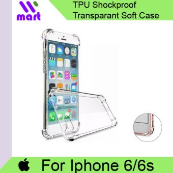TPU Shockproof Transparent Soft Case For Apple Iphone 6/6s