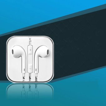 In-ear headphones apple android drive-by-wire phone headsets earplugs headphones - intl