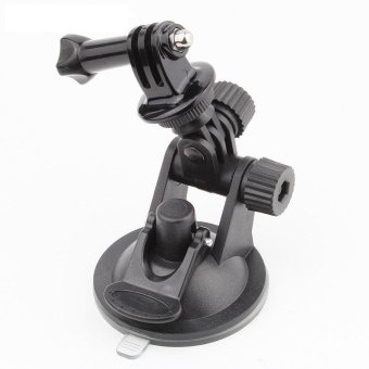 Harga TaisionMY Go Pro Car Suction Cup Adapter Window Glass Tripod+7CM Diameter Base Mount for Gopro Hero 3 3+ 4 SJ4000/5000 Accessories - intl