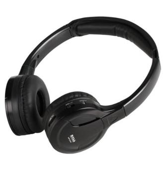 Harga BOSS Audio HP34C Dual Channel Infrared Foldable Cordless Headphone - intl
