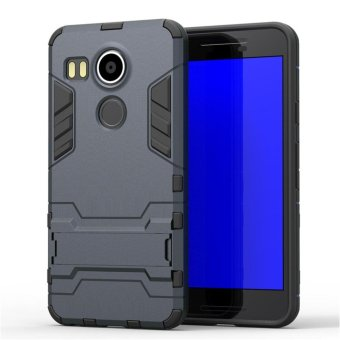 "Armor Protection 2in1 [Soft TPU and Hard PC] Stand Function Phone case for LG Nexus 5X (5.2"") - intl"