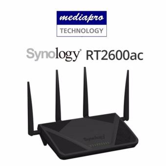 Harga Synology RT2600AC 4x4 MIMO Wireless-AC Gigabit Router with SD-Card Slot and USB3.0