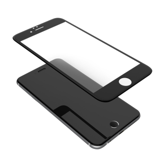 Nillkin 9H Anti-Explosion Film 3D Curved edge Full Coverage Tempered Glass Screen Protector For Apple iPhone 6/6s Plus(Black) - Intl
