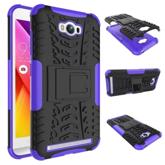 Harga Shockproof Kickstand Case Cover for Asus ZenFone Max ZC550KL (Purple)