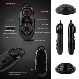 Harga 4in1smart Bluetooth Gamepads, Game Controller, Joystick Game Selfie Remote Shutter Wireless Mouse for Ios for Android Smartphones Tv Box