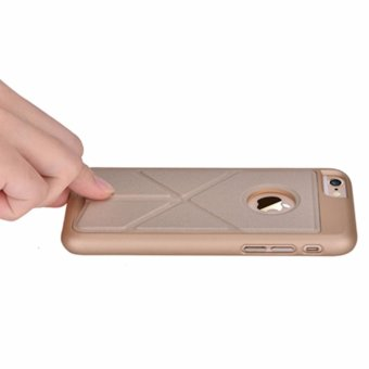 For Iphone 6s Leather Case Multifunction Back Cover with holder for Apple Iphone 6 4.7 Inch - intl