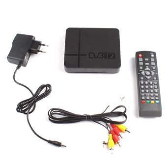 Harga BUYINCOINS HD 1080P Digital DVB-T2 TV Set-top Box Terrestrial Receiver USB for TV HDTV (EXPORT)