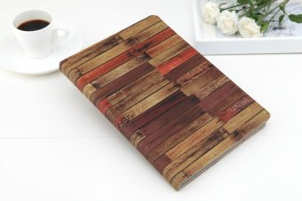 Harga For Apple IPad Air1/air2 Cases PU Leather Flip Stand Magnetic Feather Case Shockproof Cover - Intl