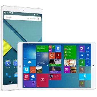 Harga Teclast X80 Power Dual OS Tablet, ROM: 32GB, Dual Camera, 8.0 inch Windows 10 Home + Android 5.1 Dual OS, Intel Cherry Trail X5 64-bit 1.84GHz, RAM: 2GB, Support 128GB TF Card, OTG, 4K Vedio WiDi HDMI Output(Gold) - intl