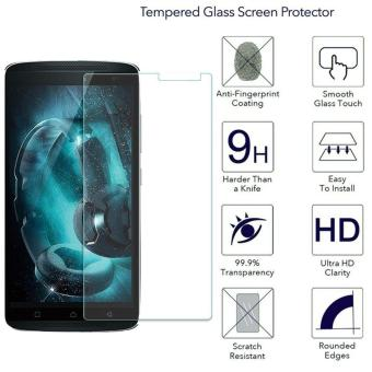 Harga 9H HD Clear Tempered Glass Screen Protector Film For Lenovo K4 Note / A7010 / Vibe X3 Lite - intl