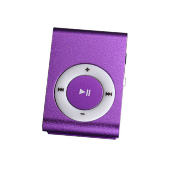 Harga High Quality MP3 Player (Purple)