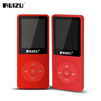 Harga 2016 100% original English version Ultrathin MP3 Player with 8GB storage and 1.8 Inch Screen can play 80h, Original RUIZU X02 - intl