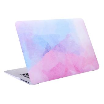 "Harga Lightning Power -Smooth Rubberized Plastic Hard Shell Snap On Case Cover for MacBook Air 13"" -Model: A1369 / A1466 Multi-color Painting - intl"