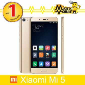 Harga Xiaomi Mi5 64GB (Gold) International ROM (Export)(Neutral Not Specified)