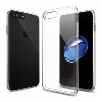 Harga Spigen iPhone 7 Plus Case Liquid Crystal Series Crystal Clear