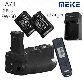 Harga Meike MK-A7II Pro Wireless Ctrl Battery Grip for Sony A7 II as VG-C2EM 2x FW-50 - intl