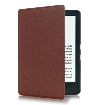 Harga GETEK Thin PU Leather Case Cover for Amazon Kindle 8th 2016 (Brown)