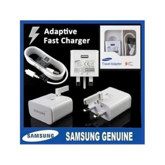 Harga Samsung Fast Charger / Samsung Fast Charging Charger / Samsung 3-Pin Wall Charger
