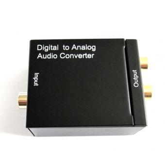 Harga Digital Audio to Analog Audio Converter/Adapter from Digital Optical Toslink/RCA Coaxial to Analog RCA output