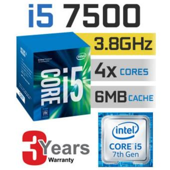Harga New 7th Gen Intel® Core™ i5-7500 Processor 3 to 3.6 GHz 4 core 4 threads