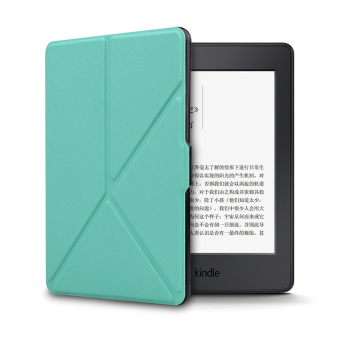 Harga Smart PU Cover for Amazon Kindle Voyage (Green)