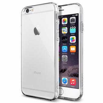 Harga iPhone 6 Plus / 6S Plus Ultra Thin Transparent Crystal Clear TPU Silicone Case Casing Cover