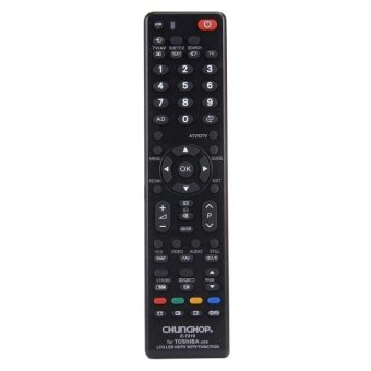 Harga CHUNGHOP E-T919 Universal Remote Controller For TOSHIBA LED TV / LCD TV / HDTV / 3DTV - intl
