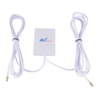 Harga XCSOURCE LTE TS9 Antenna Booster Amplifier Panel 28dBi for 4G 3G WiFi Mobile Router BI620 - intl