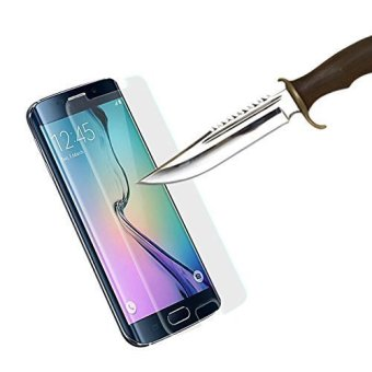 Premium Tempered Glass Screen Protector for Samsung Galaxy S6 Edge Plus (Clear)